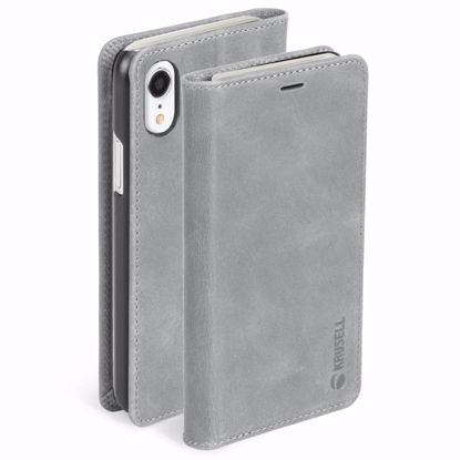 Picture of Krusell Krusell Sunne 4 Card Folio Case for Apple iPhone XR in Grey