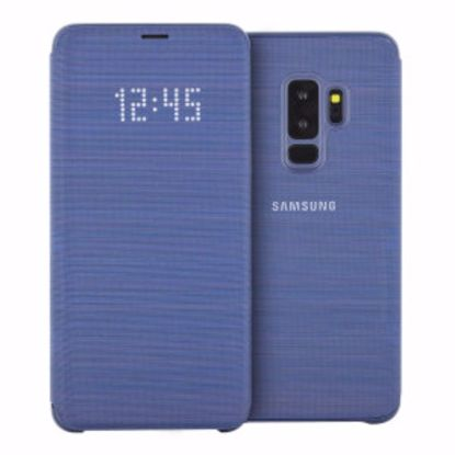 Picture of Samsung Samsung LED View Case for Samsung Galaxy S9+ in Blue