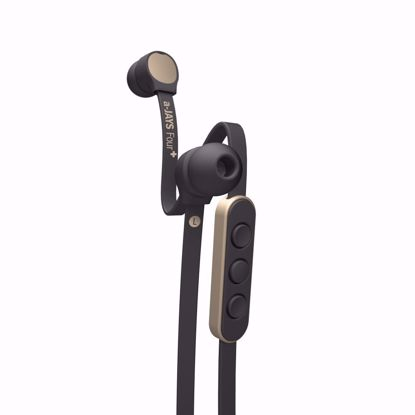 Picture of JAYS a-JAYS Four+ In-Ear Earphones with Mic for iOS Devices in Black/Gold
