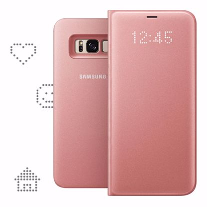 Picture of Samsung Samsung LED View Case for Samsung Galaxy S8+ in Pink
