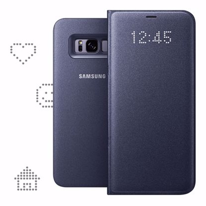 Picture of Samsung Samsung LED View Case for Samsung Galaxy S8+ in Blue