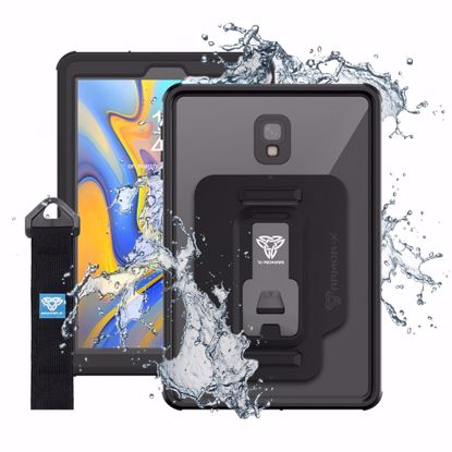 Picture of Armor-X Armor-X MX Series Case for Samsung Galaxy Tab A 10.5 in Black