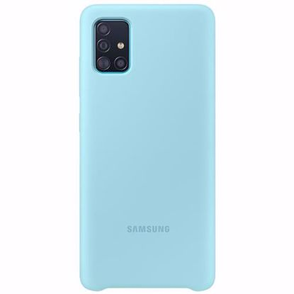 Picture of Samsung Samsung Silicone Cover for Samsung Galaxy A51 in Blue