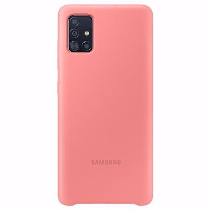 Picture of Samsung Samsung Silicone Cover for Samsung Galaxy A51 in Pink
