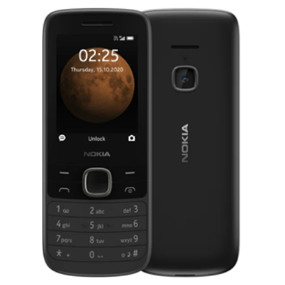 Picture of Nokia 225 4G  Black