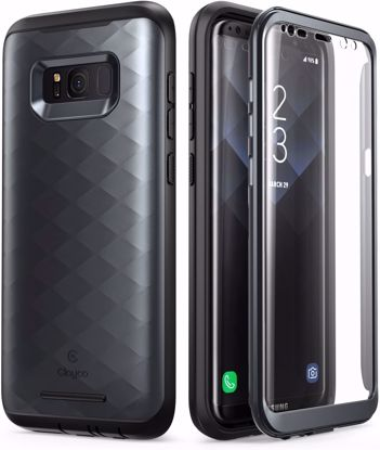 Picture of Clayco Clayco Hera CaseV2 with Built-In Screen Protector for Samsung Galaxy S8 in Black